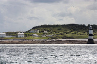 Penmon from the sea - Anglesey