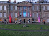 Calke Abbey illuminated